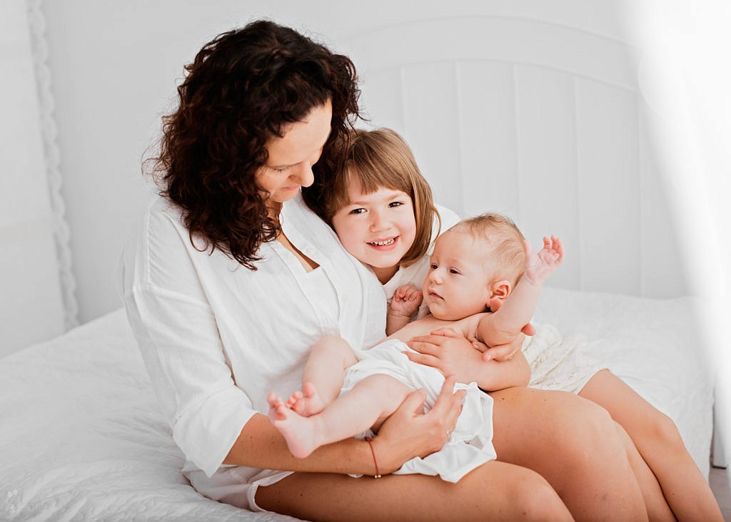 mama z dziecmi